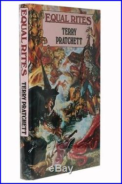 Terry Pratchett Equal Rites Colin Smythe, 1987, UK Signed First Edition