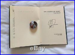 Terry Pratchett, The Colour of Magic, Hardback signed first edition