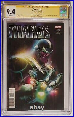 Thanos #13 Albuquerque Variant Signed Josh Brolin 1st Cosmic Ghost Rider Cgc 9.4