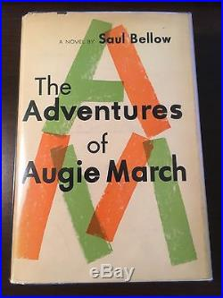 The Adventures of Augie March Saul Bellow (SIGNED, First Edition)
