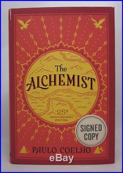 The Alchemist SIGNED Paulo Coelho First Edition Thus HC/DJ