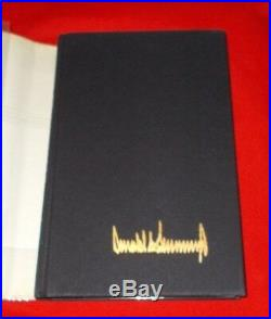 The Art Of The Deal D. Trump 1987 (Signed & Stated 1st Edition) VG+++