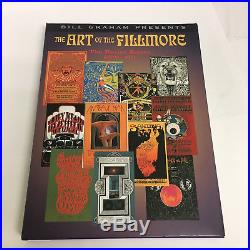 The Art of the Fillmore The Poster Series 1966-1971 Signed First Edition Slip