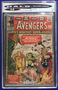 The Avengers #1 (Sept 1st 1963, Marvel) & 2012 reprint SIGNED Stan lee