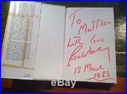 The BFG first edition, first impression SIGNED BY ROALD DAHL