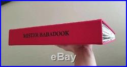 The Babadook Book First Edition Signed By Author Jennifer Kent Mister Babadook