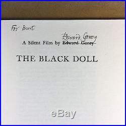 The Black Doll by Edward Gorey (Signed First Edition)