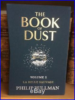 The Book of Dust La Belle Sauvage Collectible signed and no. Ed first edition
