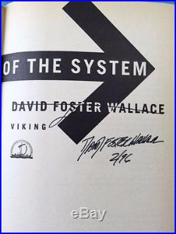 The Broom Of The System First Edition Signed By David Foster Wallace