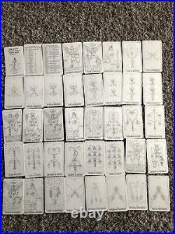 The Classic Golden Dawn Tarot Deck In Black And White FIRST EDITION Signed