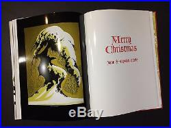 The Complete Christmas Card Art of Eyvind Earle First Edition Artist Signed