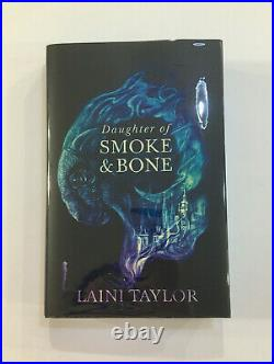 The Daughter of Smoke & Bone Signed Illumicrate First Edition Laini Taylor