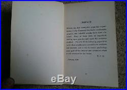 The Economy And Training Of Memory Henry J Watt signed inscription first edition