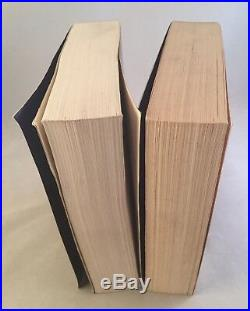 The Eye Of The World-Robert Jordan-2 Books! -SIGNED! -First/1st SC/TPB Editions