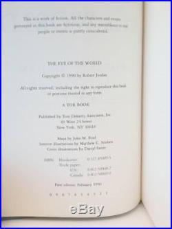 The Eye of the World by Robert Jordan (First Edition) Signed Scarce