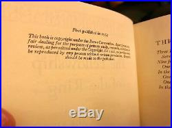 The Fellowship of the Ring, J R R Tolkien (1954), UK, 1ST EDITION/1ST IMPRESSION