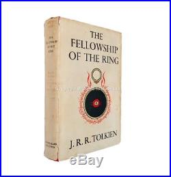The Fellowship of the Ring Signed by J. R. R. Tolkien First Edition Second
