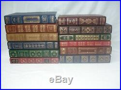 The Franklin Library Signed Limited First Edition Books lot of 10