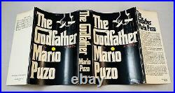The Godfather-Mario Puzo-SIGNED! -First/1st Book Club Edition-HC/DJ- VERY RARE