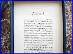 The Great Gatsby Galleys, F. Scott Fitzgerald Signed Facsimile 1925 First Edition