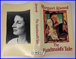 The Handmaid's Tale by Margaret Atwood Canadian First Edition 1st/1st Signed
