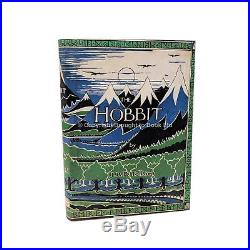 The Hobbit Signed J. R. R. Tolkien First Edition 1st Impression George