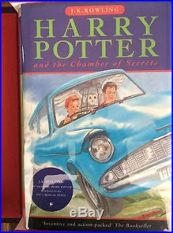 The Holy Grail Harry Potter Complete Signed First Edition First Print Hardbacks