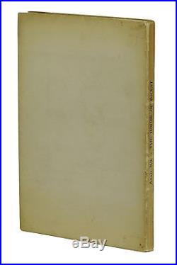 The House of Incest ANAIS NIN Signed First Limited Edition 1/249 1st 1936