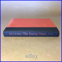 The Journey Home by Edward Abbey (Signed First Edition, Hardcover in Jacket)