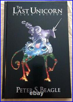 The Last Unicorn Signed Deluxe First Edition Graphic Novel, Hardcover
