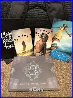 The Light Seers Tarot Signed Indie Version 1st edition With Both 10 of Swords