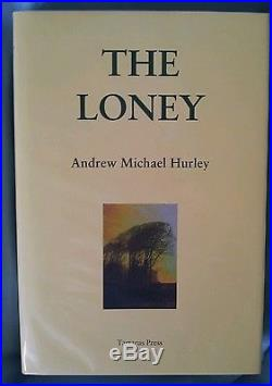 The Loney by Andrew Hurley signed first edition Tartarus Press