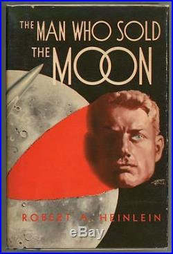 The Man Who Sold the Moon by Robert A Heinlein Signed First Edition High Grade