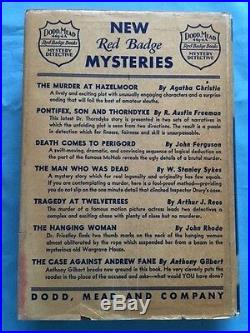 The Murder At Hazelmoor First American Edition Signed By Agatha Christie