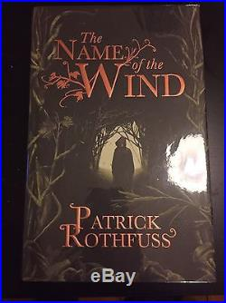 The Name Of The Wind 1/1 First Edition Signed
