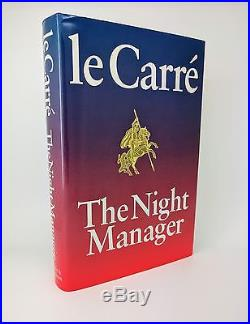 The Night Manager John le Carré Signed First Edition 1st/1st 1993