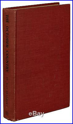 The October Country SIGNED by RAY BRADBURY First edition 1st Printing 1955