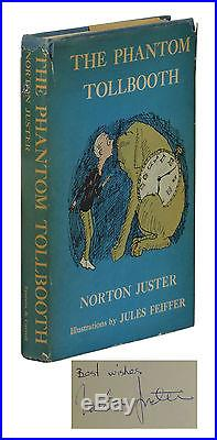The Phantom Tollbooth SIGNED by NORTON JUSTER First Edition 1961 1st Print