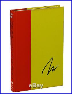 The Philosophy of ANDY WARHOL SIGNED First Edition 1975 Pop Art 1st Printing