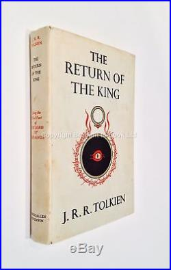 The Return of the King Signed by JRR Tolkien First Edition First Impression