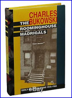 The Roominghouse Madrigals CHARLES BUKOWSKI SIGNED Presentation First Edition