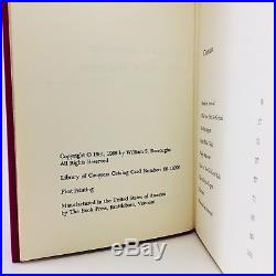 The Soft Machine First Edition/1st Printing William S. Burroughs SIGNED