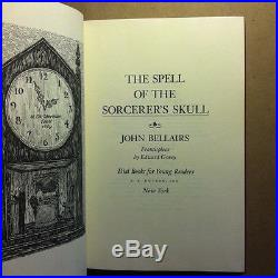 The Spell of the Sorcerer's Skull by John Bellairs (Signed, First Edition)