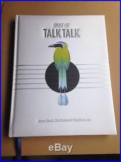 The Spirit of Talk Talk hardback book Mark Hollis Talk Talk Signed First Edition