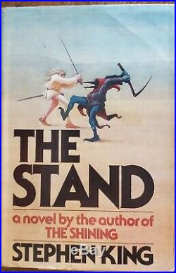 The Stand Stephen King (1978, Hardcover, 1st Edition) Book Club Edition Signed