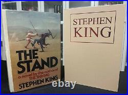 The Stand by Stephen King. 1st / 1st US Edition w classic inscription / signed