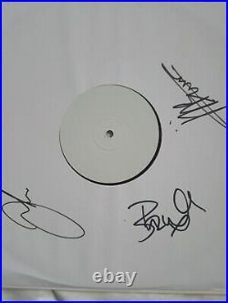 The Stranglers Dark Matters signed test pressing vinyl Only 25 pressed Worldwide