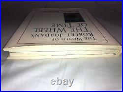 The World of Robert Jordan's the Wheel of Time SIGNED (1st Edition/Print)