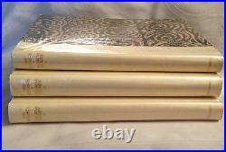 Thomas Hardy, The Dynasts 1927 Signed Three Volume Ltd Ed Original Dustjackets