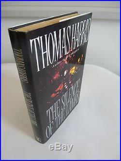 Thomas Harris,'The Silence of the Lambs' SIGNED UK first edition 1st/1st